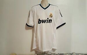 All Star BWIN Cristiano Ronaldo 7 White XL Soccer Football Jersey  041b23158