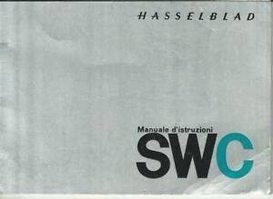 Hasselblad SWC: Manuale di istruzioni in lingua italiana