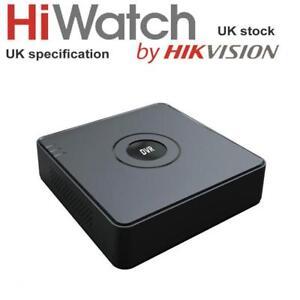 Hikvision HiWatch 8Ch DVR Turbo HD 2MP 1080P TVI//AHD//CVI//CVBS Latest DVR-108G-F1