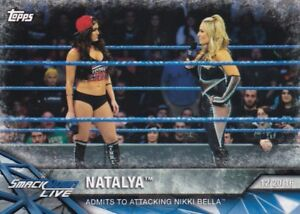 2017-Topps-Wwe-de-Mujer-Division-Cartas-Coleccionables-Momments-WWE-20-Natalya
