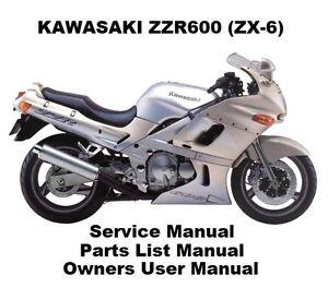 Kawasaki zzr600 service manual.