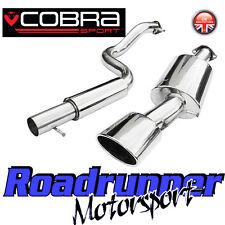 "Cobra Sport Seat Leon MK1 1.9 TDi (99-05) Exhaust System 2.5"" Cat Back Resonated"