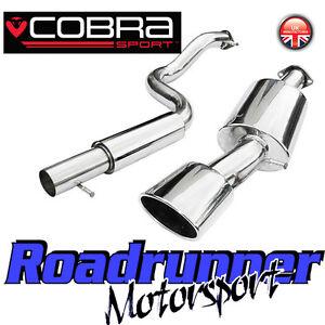 "Cobra Sport Seat Leon MK1 1.9 TDi Exhaust System 2.5/"" Cat Back Resonated 99-05"
