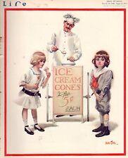 1913 Life August 21 - What is the worst summer resort? elastic autos; Ice Cream