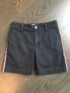 Image is loading Moncler-Boy-Blue-Cotton-Shorts-Size-6