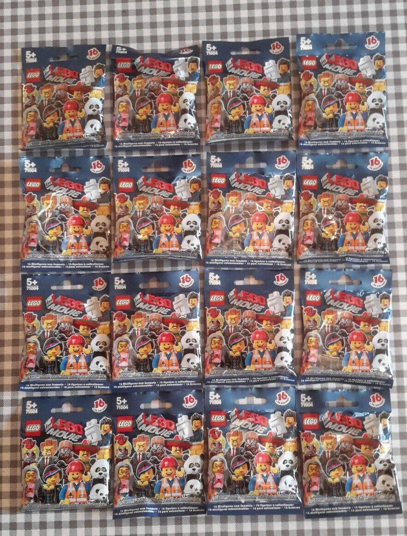 Lego Minifiguras Movie (71004) Completo Conjunto series de 16 Nuevo Sellado De Fábrica