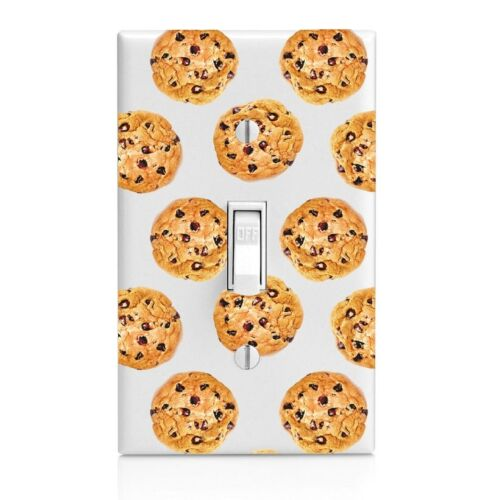 Chocolate Chip Cookie Wall Plate Toggle Decor Switch Plate Cover