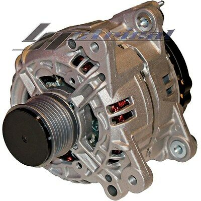 NEW ALTERNATOR VW BEETLE 1.8,2,1.9 CLUTCH PULLEY 120AMP