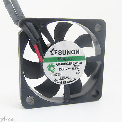 1pc 5V 25mm x 25mm x 10mm 2510 DC Brushless Cooling Fan 2 pin 2.0 Connector