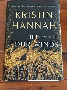 THE FOUR WINDS by KRISTIN HANNAH SIGNED 1st FIRST EDITION-Brand New with COA
