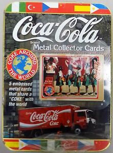 cartes-metal-COCA-COLA-metal-collector-cards-coke-around-the-world-boite