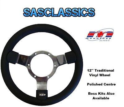 Mountney MB037C Austin // MG Traditional Chrome Steering Wheel Boss Kit