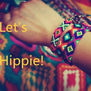Freundschaft-Handgemachte-gewebte-Seil-Schnur-Hippie-Boho-der-Armbaender-ZJAB