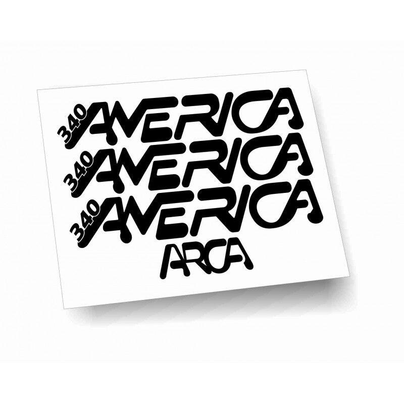 kit adesivi camper Arca America 340 colori personalizzabili