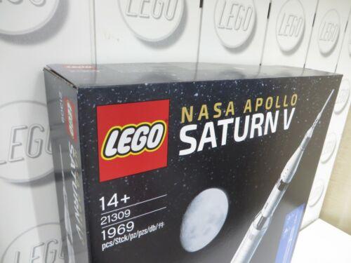 LEGO Ideas NASA Apollo Saturn V 21309 NEU original verpackt ungeöffnet