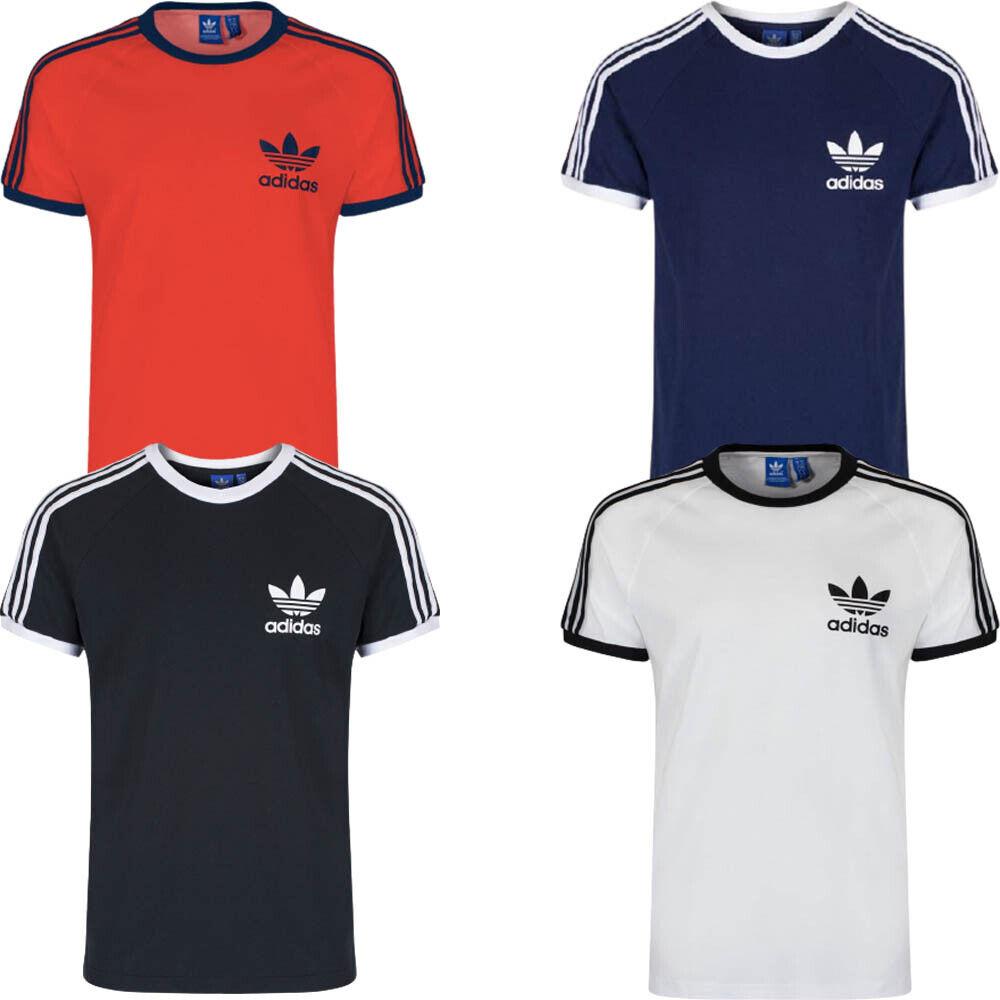 Adidas Mens T Shirt T-Shirt Originals Essential Cotton Crew Tops Tee TShirt