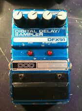 DOD DFX91 DIGITAL DELAY/SAMPLER EFFECTS PEDAL VINTAGE  FREE SHIPPING