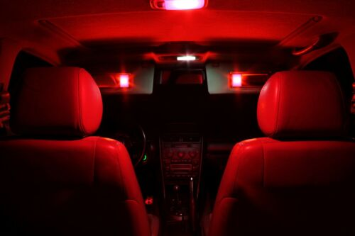 TOOL 8 x Ultra RED Interior LED Lights Package For 2006-2012 Honda Civic