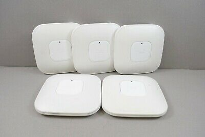 LOT OF 5 Cisco Wireless Access Point Aironet AP 802.11n AIR-CAP3502I-A-K9 5GHz