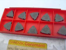10 off sandvik threading inserts  M3L 26 WHIT grade S10T ( 26 tpi whitworth