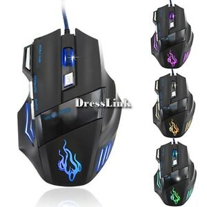 3200-DPI-LED-7-Button-USB-Optical-Wired-Gaming-Mouse-Mouse-Per-Pro-Gamer-DL0
