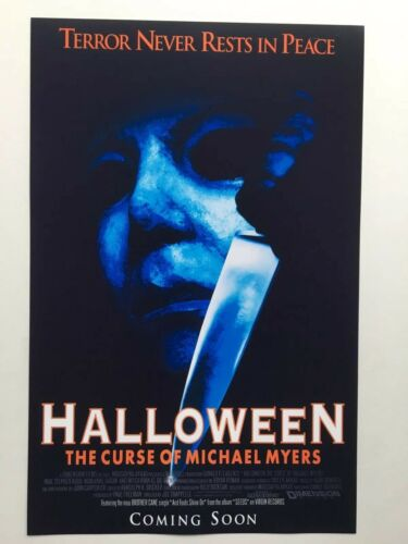 Halloween The Curse of Michael Myers 11x17 Movie Poster 1995