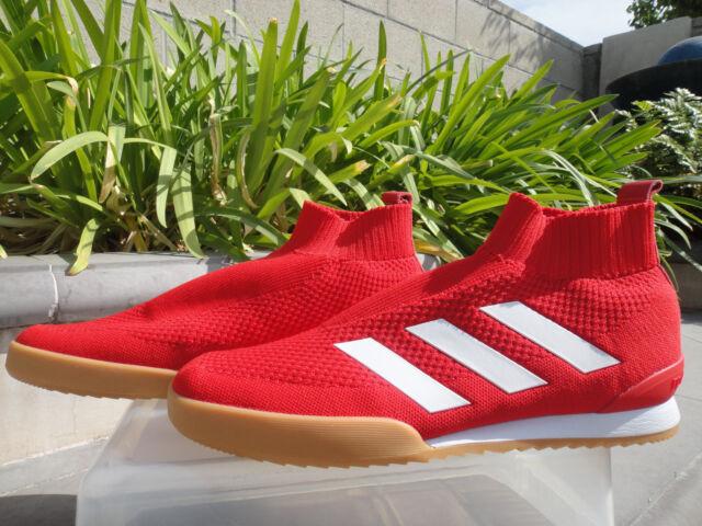 buy online a05eb 74f35 Gosha Rubchinskiy X adidas Ace 16 TR Primeknit Sneaker CM7900 Red MNS Us11m