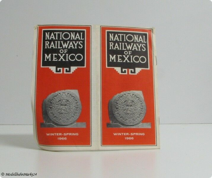 National Railways of Mexico Winter-Spring 1966