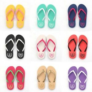 f9902ccc37c2d8 Image is loading Womens-Mens-Flip-Flops-Flats-Platform-Summer-Sandals-