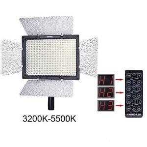Yongnuo-YN-600-Pro-LED-Video-Light-for-Canon-Nikon-Camera-Camcorder-Remote