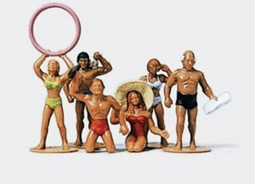 peintes à la main 6 personnages Ajusté couples Preiser 14138 h0