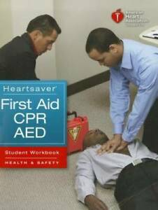 Heartsaver First Aid CPR AED - Student Workbook - Paperback - GOOD