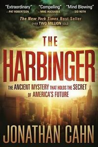 The-Harbinger-by-Jonathan-Cahn-paperback-FREE-SHIPPING-ancient-secret-mystery