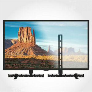 Universal-Sound-Bar-Bracket-Under-Over-TV-Wall-Mount-Speaker-for-Vizio-Samsung