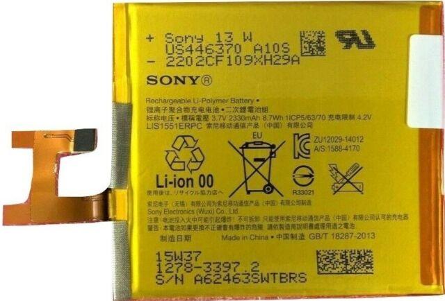 100% Genuine Original LIS1551ERPC Battery Replacement Sony Xperia M2 D2303 D2306