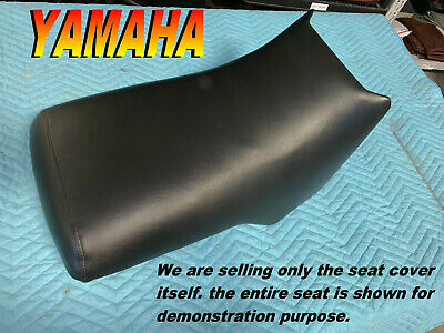 Year Code:J 1997 Yamaha YFM350U Big Bear 2x4 Handmade Black Marine Grade ATV Seat Cover