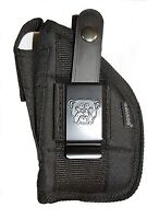 Side Holster For Walther P22 3.4 Barrel With Laser