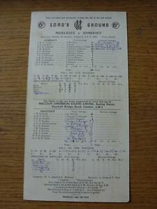 02-08-1969-Cricket-Scorecard-Middlesex-v-Somerset-At-Lords-3-Day-Game-score