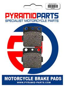 Rear brake pads for Yamaha YFM350 Raptor 04-10