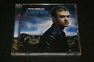 justin timberlake justified cd 2002 first pressing 12414183729 ebay. Black Bedroom Furniture Sets. Home Design Ideas