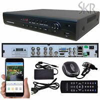 Standalone 8ch Channel Full 960h Cctv Dvr Recorder Security Camera System Hdmi