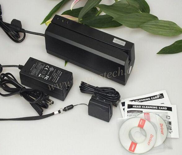 Hi-Co Magnetic Stripe Card Reader//Writer Encoder MSR605 3-track C// MSR206