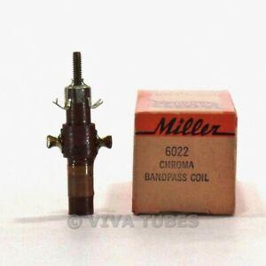 NOS-NIB-Vintage-Miller-6022-Chroma-Bandpass-Coil-2-4MC-Frequency