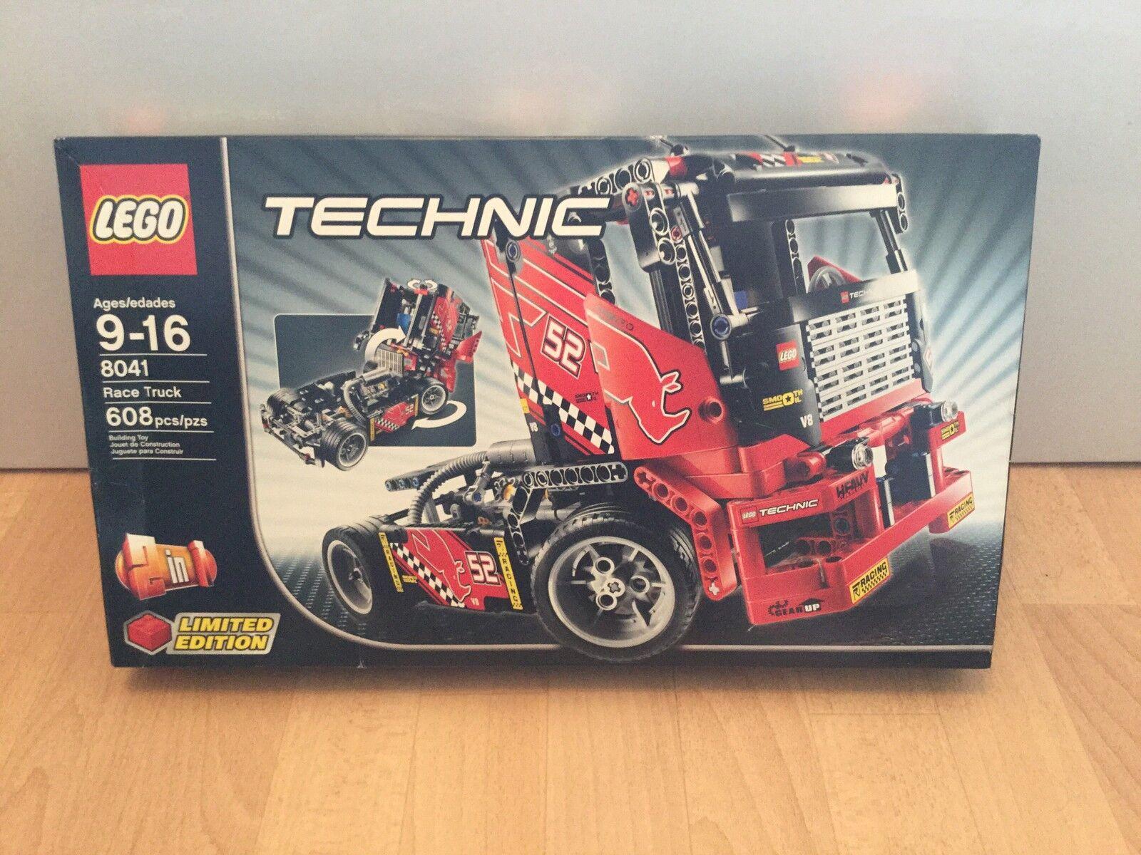 LEGO 8041 Technic  Camion da Corsa-Edizione Limitata-NUOVO e SIGILLATO  negozio outlet