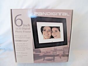 Pandigital 6 Lcd Digital Photo Frame Picture Frame New In Box