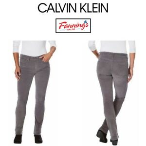 NEW-Calvin-Klein-Jeans-039-Ladies-Ultimate-Skinny-Corduroy-Pant-VARIETY-Size-amp-Color