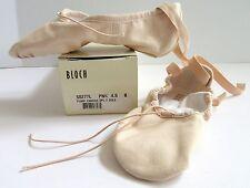 Ballet Shoe Pink size 4.5B US 6.5 Narrow Bloch Women's Canvas S0277L