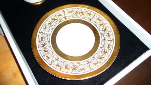 1 Set Royal Chelsea Midas Bone China England Cup and Saucer Excellent