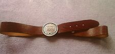 MINI COOPER LEATHER BELT/VINTAGE LOOKING/NICE WEAR/GREAT CONDITION.