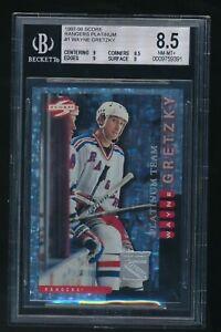 1997-98 Score Rangers Platinum #1 Wayne Gretzky BGS 8.5 VHTF Rare